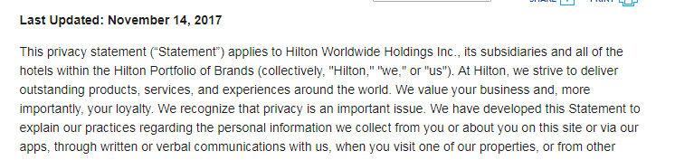 Hilton Do Not Disturb