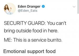 Delta Support Animal