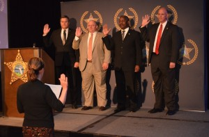 Orange County Sheriff Jerry Demings being sworn in as FSA President in Washington D.C.