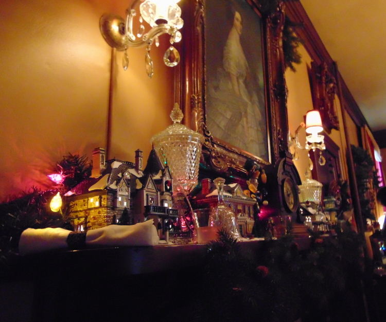 Every inch of the mansion is tastefully decorated.