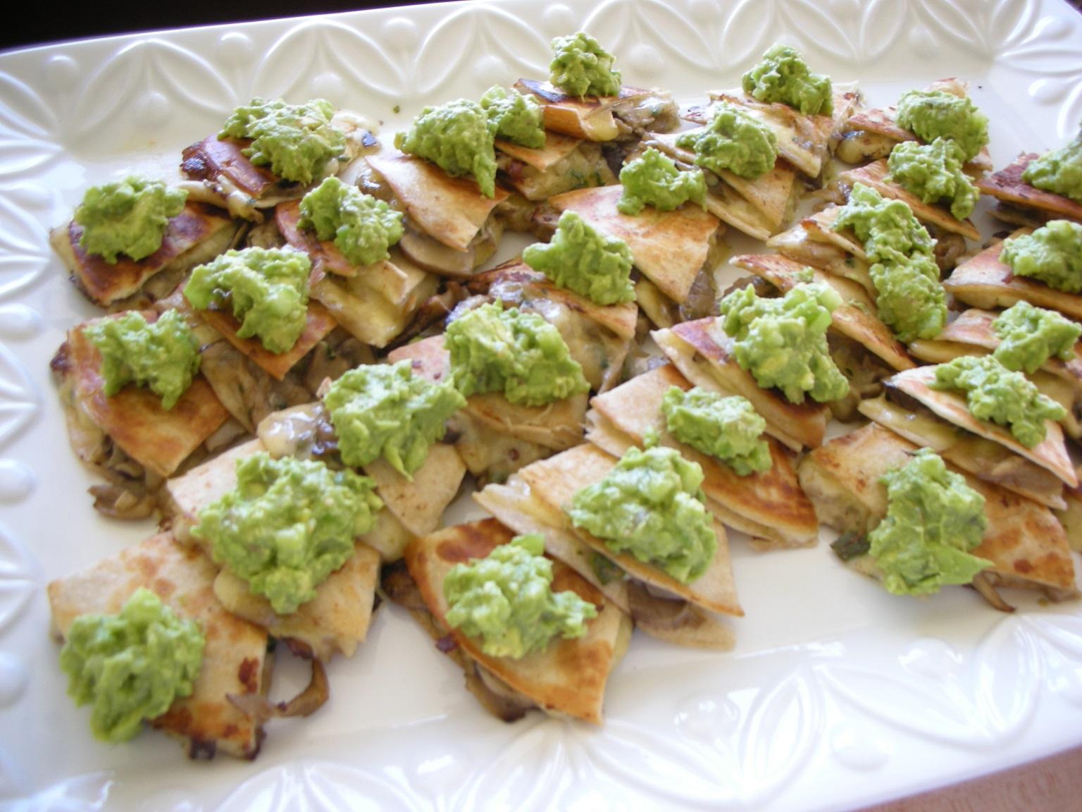 ... Mix recipe: Cheese & Mushroom Quesadillas - Heather's Florida Kit...