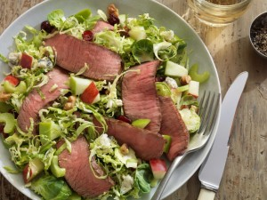 Beef & Brussels Sprouts Chopped Salad
