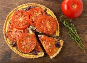 Tomato & Onion Tart