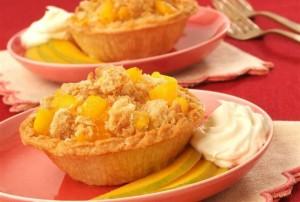 Mango-Coconut Tarts