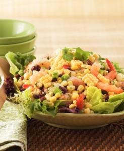 Sweet Corn, Black Bean & Quinoa Salad