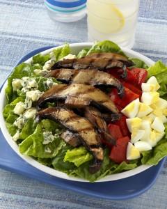 Grilled Mushroom Cobb Salad
