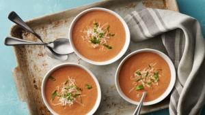 Creamy Tomato Basil Soup (Photo courtesy Pillsbury/General Mills)
