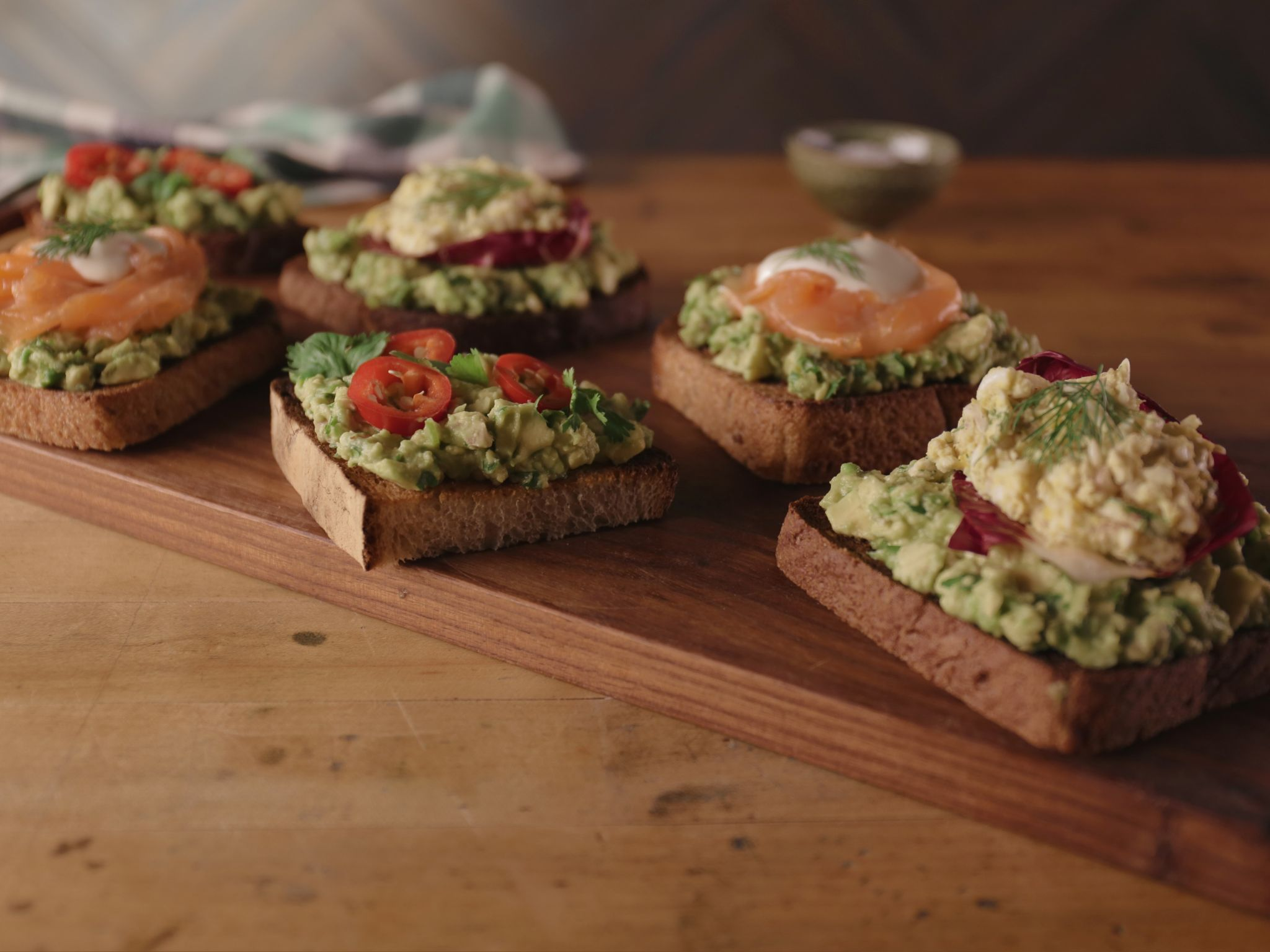 Heathers florida kitchen bobby flays avocado toast three ways bobby flays avocado toast three ways photo courtesy television food network and brunch bobbys forumfinder