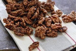 Cinnamon-Vanilla Glazed Walnuts (photo courtesy McCormick & Co.)