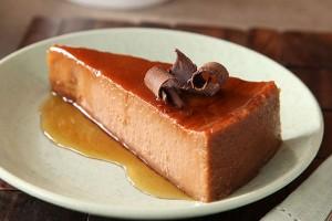 Chocolate-Orange Cream Cheese Flan (Photo courtesy Kraft Foods)