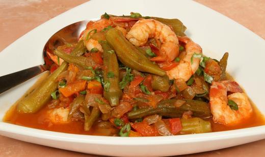 Florida Shrimp & Okra Gumbo (Photo courtesy Fresh From Florida)