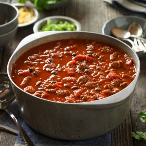 A basic chili recipe can be transformed with just a few tweaks (Photo courtesy Beef Checkoff)