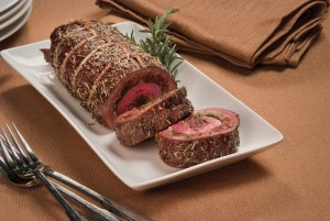 Flank Steak Roulade (photo courtesy Certified Angus Beef)