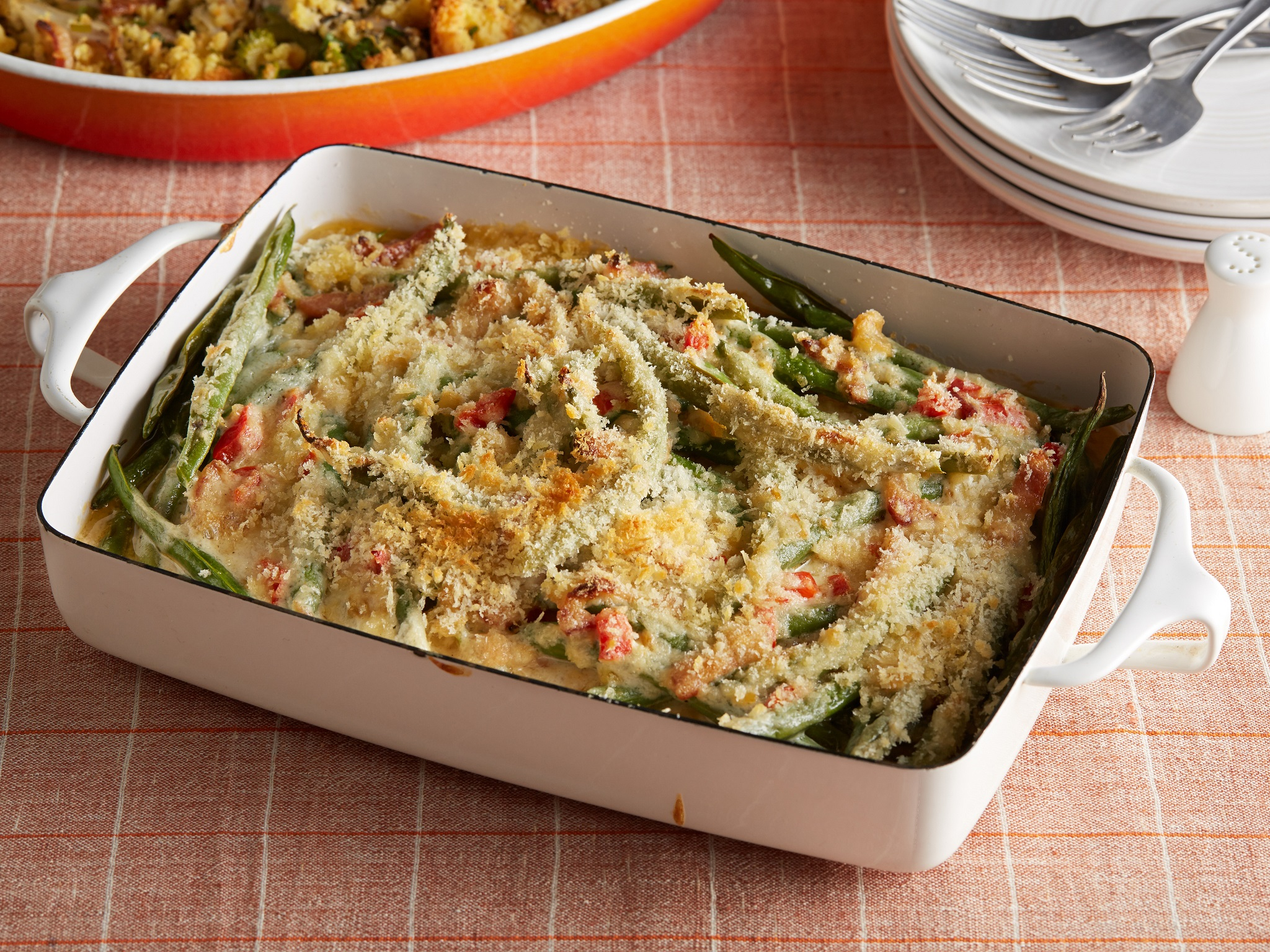 Ree Drummond's Green Bean Casserole (Photo courtesy Food Network's Th...