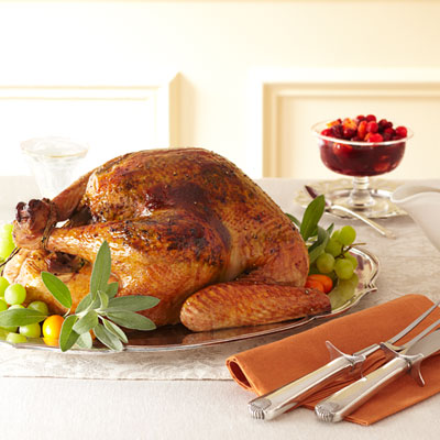 Sage-Orange Turkey & White Wine Gravy (Photo courtesy
