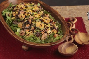 Cranberry Citrus Pecan Rice Salad (Photo courtesy Florida Citrus Commission)