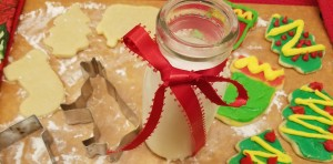 Rolled Christmas Sugar Cookie Cutouts