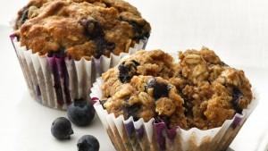 Blueberry-Oatmeal Muffins (Photo courtesy Betty Crocker Kitchens)