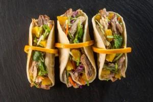Sour Orange Cuban Tacos (Photo courtesy Florida Department of Citrus)