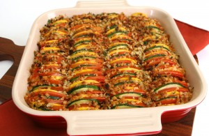 Squash and Tomato Gratin (Photo courtesy Florida Department of Agriculture and Consumer Services)