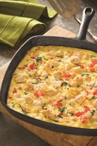 Chicken Frittata (photo courtesy National Chicken Council)