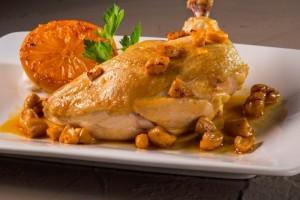 Cashew Chicken with Orange Glaze (Photo courtesy Florida Department of Citrus)
