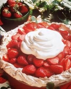 Strawberry Kissed Meringue