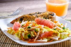 Florida Grapefruit and Jicama Salad (Photo courtesy Florida Department of Citrus)