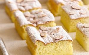 Flourless Almond Cake with Strawberry Sauce (Photo courtesy Almonds.com)