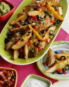 Baked Potato Nachos (Photo courtesy Potatoes USA)