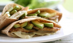 Chicken, Avocado and Swiss Wrap (Photo courtesy Fresh From Florida)