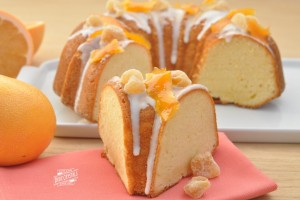 Ginger Grapefruit Pound Cake (Photo courtesy Dixie Crystals)
