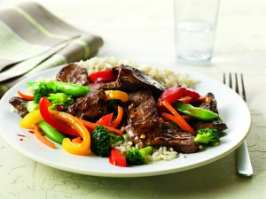 Beef and Vegetable Stir-Fry (Photo courtesy Beef Checkoff)