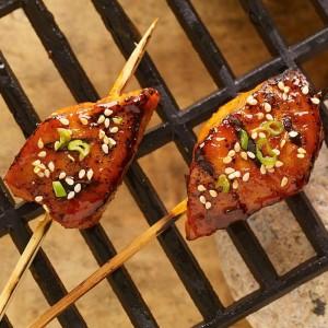 Korean BBQ Pork Skewers (Photo courtesy McCormick & Co.)