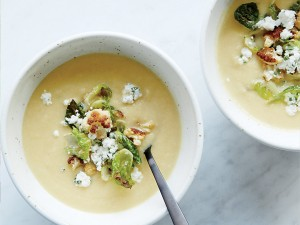 Cauliflower Soup with Herbed Goat Cheese (Photo courtesy Food and Wine and Time Inc.)