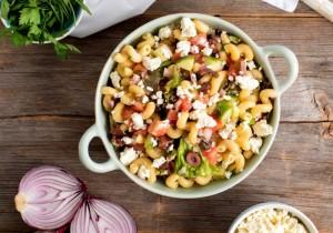 Greek Pasta Salad (Photo courtesy PastaFits.org)