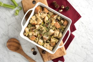 Apple, Sage, and Celery Stuffing (Photo courtesy Duda Farm Fresh Foods)
