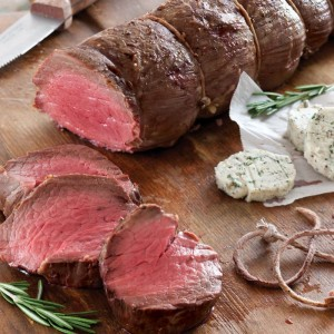 Beef Tenderloin with Rosemary-Pepper Butter (Photo courtesy Taste of the South magazine and tasteofthesouth.com)