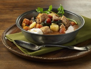 Chicken Vegetable and Red Lentil Stew (Photo courtesy National Chicken Council and ChickenRoost.com)