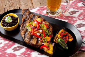 Steaks with Citrus Salsa (Photo courtesy Florida Department of Citrus)