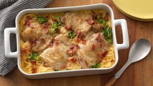 Smothered Chicken Casserole (Photo courtesy General Mills Co. and BettyCrocker.com)