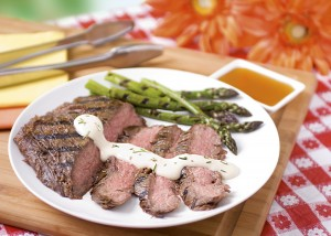 Honey and Ginger Marinated Flank Steak (Photo courtesy National Honey Board)
