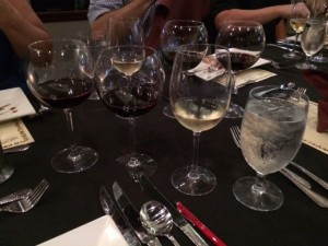 I dare you to have total recall if all these wine glasses were filled and then emptied by you!