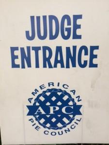 APC Judge sign