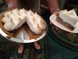 Chocolate Smore Dream Pie, judging the slice by it's looks.