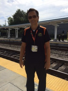 My friendly SunRail passenger assistant provided excellent customer service at the Altamonte Springs station.