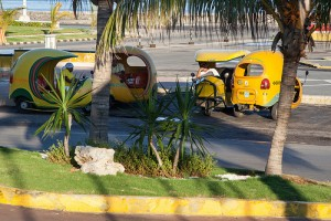 Then there are these - which quaint taxi do you prefer in Cuba?