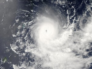 Image acquired February 19, 2010: Tropical Cyclone Gelane had sustained winds of 125 knots (230 kilometers per hour) and gusts up to 150 knots (275 kilometers per hour), according to a report from the U.S. Navy's Joint Typhoon Warning Center (JTWC) on February 19, 2010. The JTWC reported that Gelane was roughly 315 nautical miles (585 kilometers) east-northeast of Port Louis, Mauritius, and was forecast to travel toward the southwest, weakening slightly as it moved. The Moderate Resolution Imaging Spectroradiometer (MODIS) on NASA's Aqua satellite captured this true-color image on February 19, 2010. Gelane's spiral arms span hundreds of kilometers over the open ocean. Credit: NASA image by Jeff Schmaltz, MODIS Rapid Response Team, Goddard Space Flight Center. Caption by Michon Scott. Instrument:  Aqua - MODIS For more details and a higher res file of this image go to: http://earthobservatory.nasa.gov/NaturalHazards/view.php?id=42767