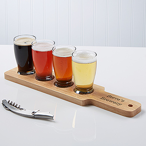 Beer flights are really taking off!
