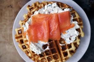 Anyone for a savory waffle?
